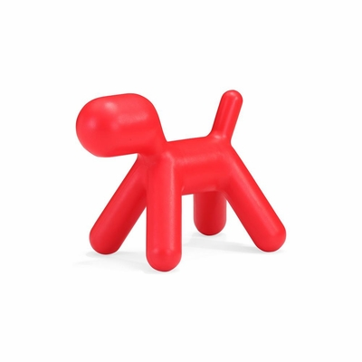 Pup Chair - Red Finish - Zuo