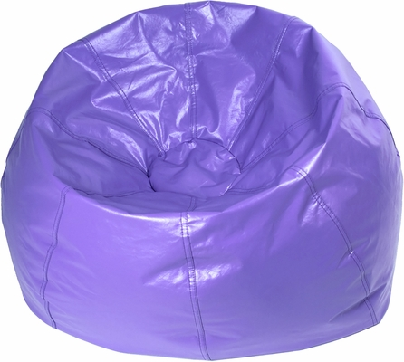 Purple Round Bean Bag
