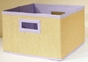 Purple Storage Baskets (Set of 3) - Links - Alaterre - AB3200PUR