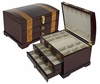 Quality Importers Plantation Jewelry Box in Rosewood  - JBQ-SA108