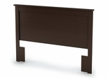 Queen/Full Size Headboard in Chocolate - Vito - South Shore Furniture - 3119270
