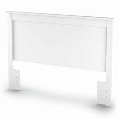 Queen/Full Size Headboard in Pure White - Vito - South Shore Furniture - 3150270