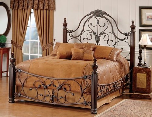 Queen Size Bed - Bonaire Queen Size Bed - Hillsdale Furniture