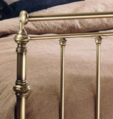 King Size Bed - Charleston Eastern King Size Metal Bed