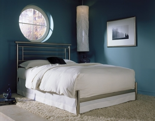Queen Size Bed - Chatham Queen Size Bed in Satin - Fashion Bed Group -B41835