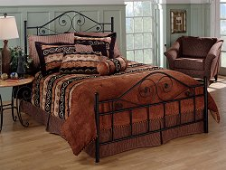 Queen Size Bed - Harrison Queen Size Bed - Hillsdale Furniture