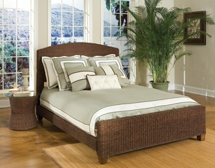 Queen Size Bed in Cocoa - Cabana Banana - 5402-400