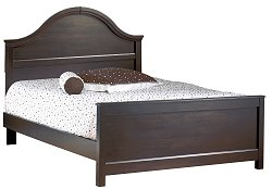 Queen Size Bed in Ebony - South Shore Furniture - 3877-QBED