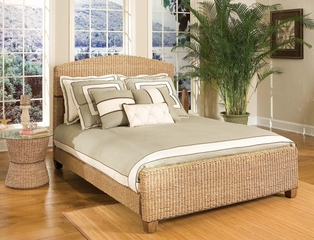 Queen Size Bed in Honey - Cabana Banana - 5401-400