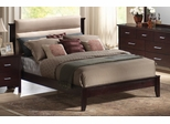 Queen Size Bed - Kendra Queen Size Bed in Mahogany - Coaster - 201291Q