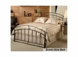 Queen Size Bed - Vancouver Metal Bed in Antique Brown