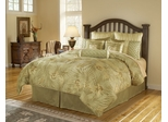 Queen Size Comforter Set - 11 Piece Set in Ellison Pattern - 82EQ712EL