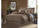 Queen Size Comforter Set - 11 Piece Set in Gavin Pattern - 82EQ712GVN