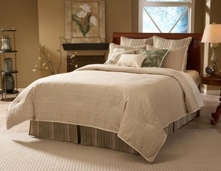 Queen Size Comforter Set - 11-Piece Super Pack in Allentown Pattern - 80EQ712ATW