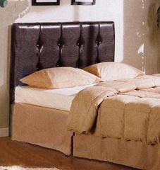 Queen Size Headboard in Brown - 4D Concepts - 443744