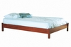 Queen Size Low Profile Bed in Classic Cherry - South Shore Furniture - 3168203