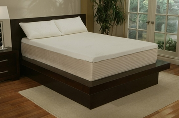 "Queen Size Mattress - 14"" Sleep Science Visco Memory Foam Mattress - South Bay International - CST-14Q"