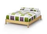 Queen Size Platform Bed - Step One - South Shore Furniture - 3013203