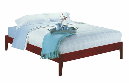Queen Size Simple Platform Bed - Newport - Modus Furniture - SP18F5
