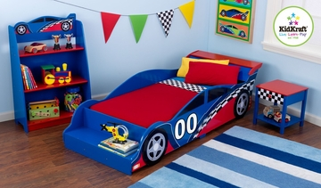 Racecar Toddler Bed - KidKraft Furniture - 76040