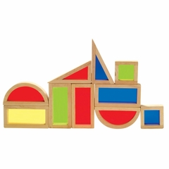 Rainbow Blocks Set - 10 Pcs - Guidecraft - G3015