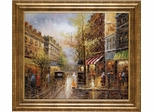 Rainy Days In Paris Framed Wall Art - 960397
