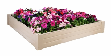 Raised Garden Bed / Sandbox in Natural Cedar - 4' x 4' - NewAgeGarden - EGB002-4x4
