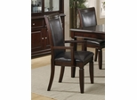 Ramona Arm Chair (Set of 2) in Walnut - Coaster - 101633-SET