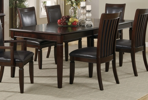 Ramona Dining Table in Walnut - Coaster - 101631
