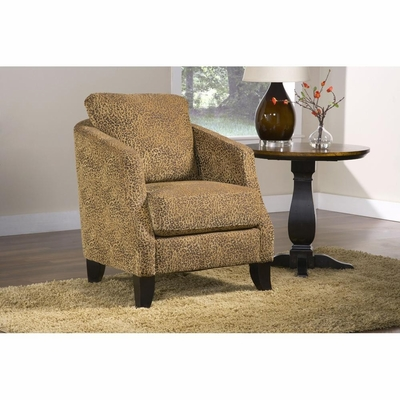 Randall Accent Chair Leopard Bronze - Largo - LARGO-ST-F1224-436