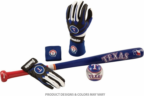 Rangers Complete Tee Ball Set - Franklin Sports