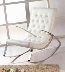 Raymondo Rocking Chair in White - K102-WHITE