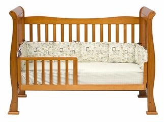 Reagan 4-in-1 Convertible Crib - DaVinci Furniture - M2801