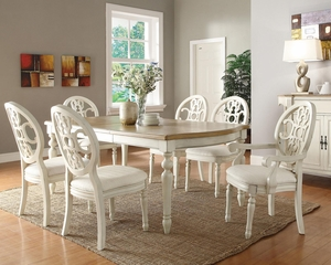 Rebecca 7 Piece Dining Table Set - 104241