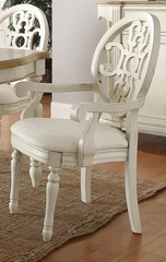 Rebecca Upholstered Arm Chair - Set of 2 - 104243