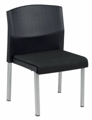 Reception Chair - Europa Armless Convertible Chair (Set of 2) - OFM - 410-SET