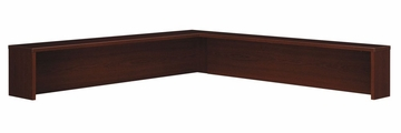 Reception L-Hutch - Series C Mahogany Collection - Bush Office Furniture - WC36776