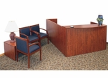 Reception Room / Waiting Room Set 1 - Legacy Laminate - LGC-RPKG-1