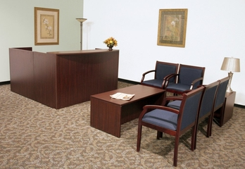 Reception Room / Waiting Room Set 2 - Legacy Laminate - LGC-RPKG-2