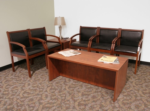 Reception Room / Waiting Room Set 5 - Legacy Laminate - LGC-RPKG-5