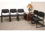 Reception Room / Waiting Room Set 8 - Legacy Laminate - LGC-RPKG-8