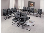 Reception/Waiting Room Furniture Set 7 - OFM - 509LX-RECEPTION-PKG