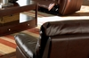 Recliner in Brown Leather - Coaster