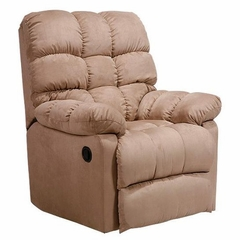 Recliner in Microfiber Mocha - Handy Living - RCL1-AAA85