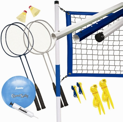 Recreational Badminton / Volleyball Set - Franklin Sports