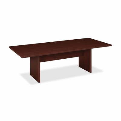 Rectangle Conference Table - Mahogany - BSXBLC96RN
