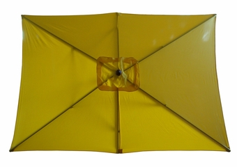 Rectangular Market Umbrella in Yellow - 53560