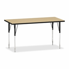 Rectangular Tables - Natural Maple/Black - HONESR3060LDP
