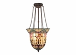 Red Baroque Foyer Fixture - Dale Tiffany