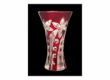 Red Floral Large Vase - Dale Tiffany